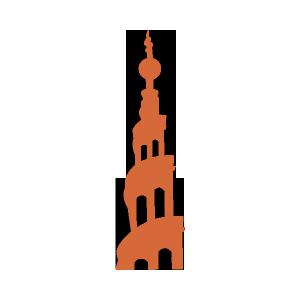 Copenhagen-Skanderborg-VorFrelsersKirkeTower