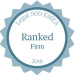 Legal 500 EMA - Ranked firm